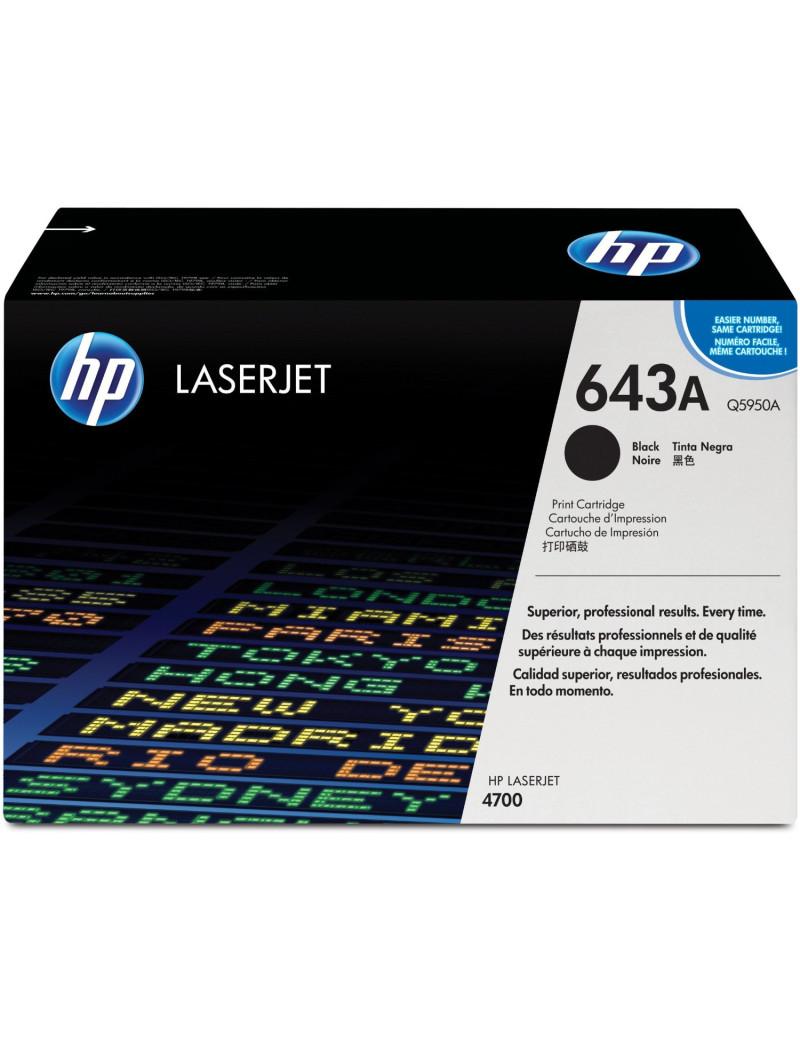 Toner Originale HP Q5950A 643A (Nero 11000 pagine)