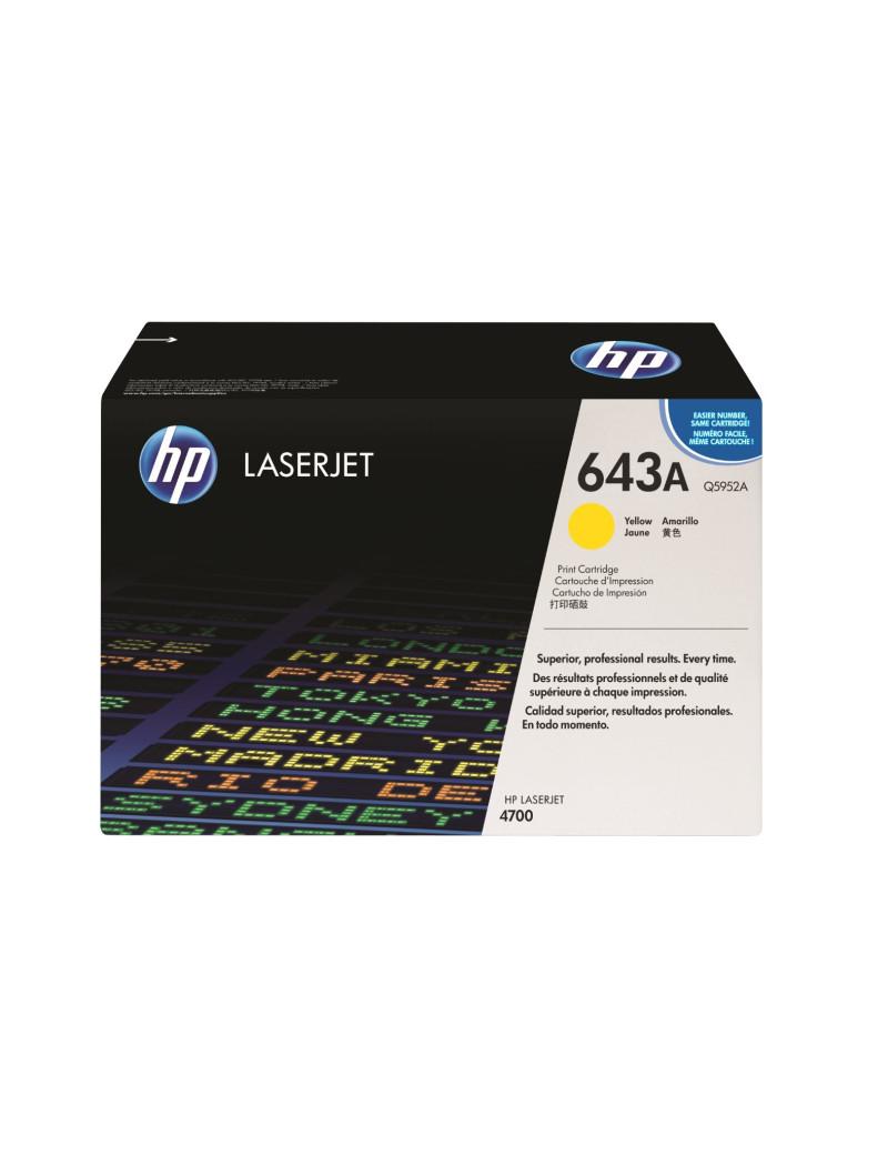 Toner Originale HP Q5952A 643A (Giallo 10000 pagine)
