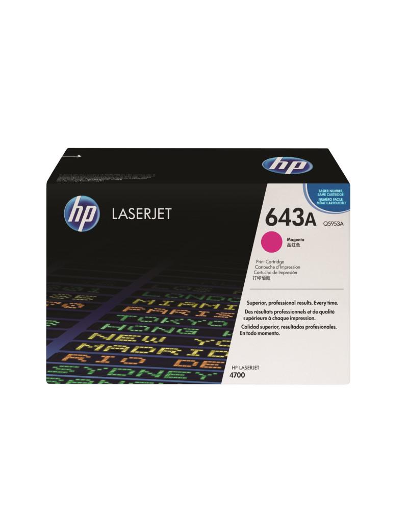 Toner Originale HP Q5953A 643A (Magenta 10000 pagine)