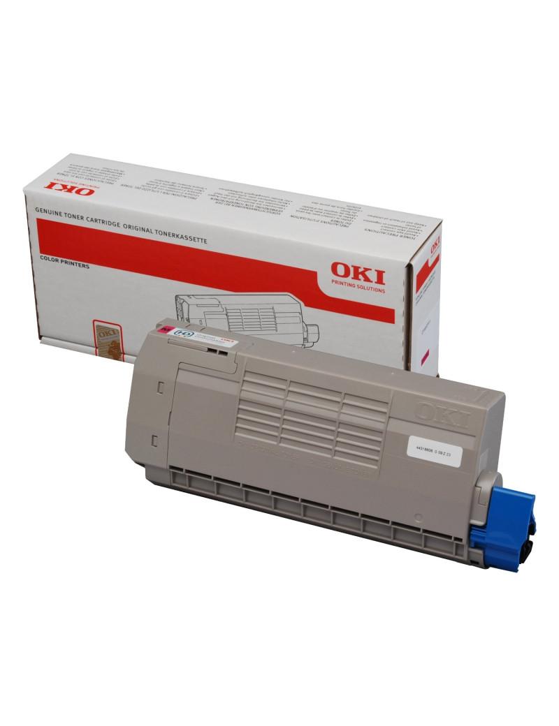 Toner Originale Oki 44318605 (Giallo 11500 pagine)