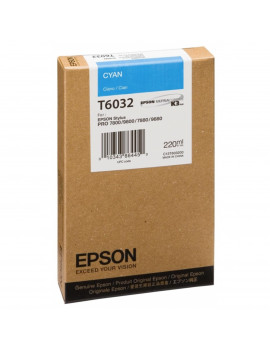 Cartuccia Originale Epson T603200 (Ciano 220 ml)