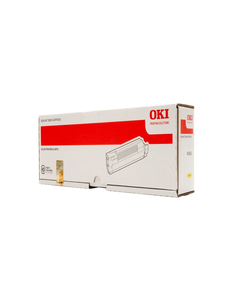 Toner Originale Oki 44059209 (Giallo 10000 pagine)