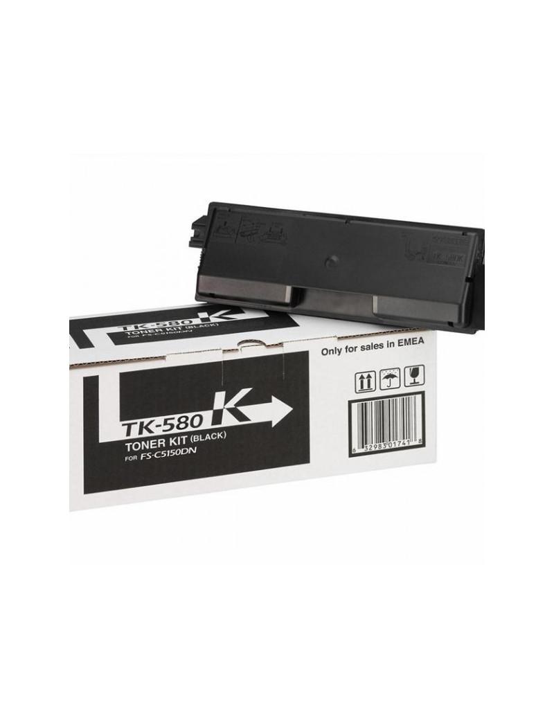 Toner Originale Kyocera TK-580K 1T02KT0NL0 (Nero 3500 pagine)
