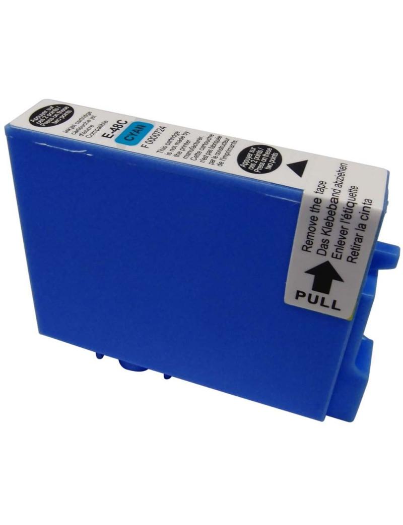 Cartuccia Compatibile Epson T048240 (Ciano 430 pagine)