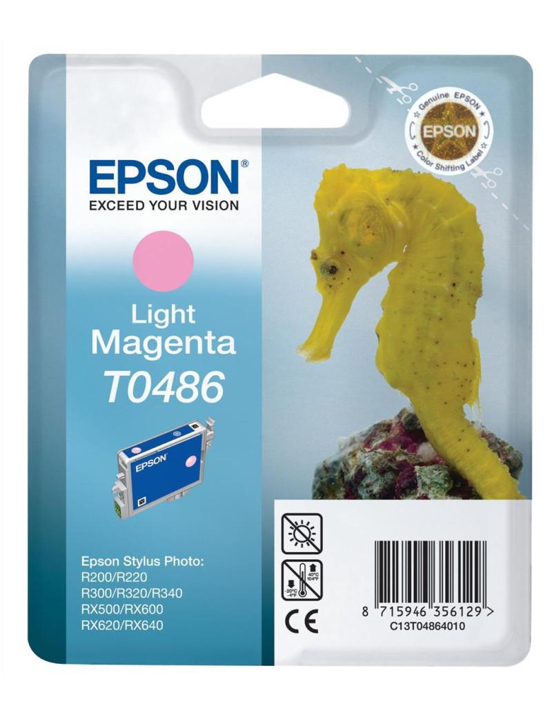 Cartuccia Originale Epson T048640 (Magenta Chiaro 430 pagine)