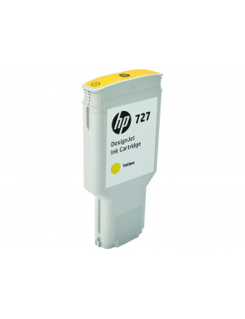 Cartuccia Originale HP F9J78A 727 (Giallo 300ml)