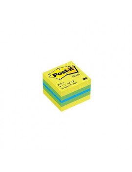 Post-it® Minicubi - 51x51 mm - Giallo