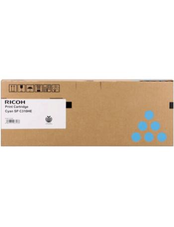 Toner Originale Ricoh SP C310c 406480 407637 (Ciano 6000 pagine)