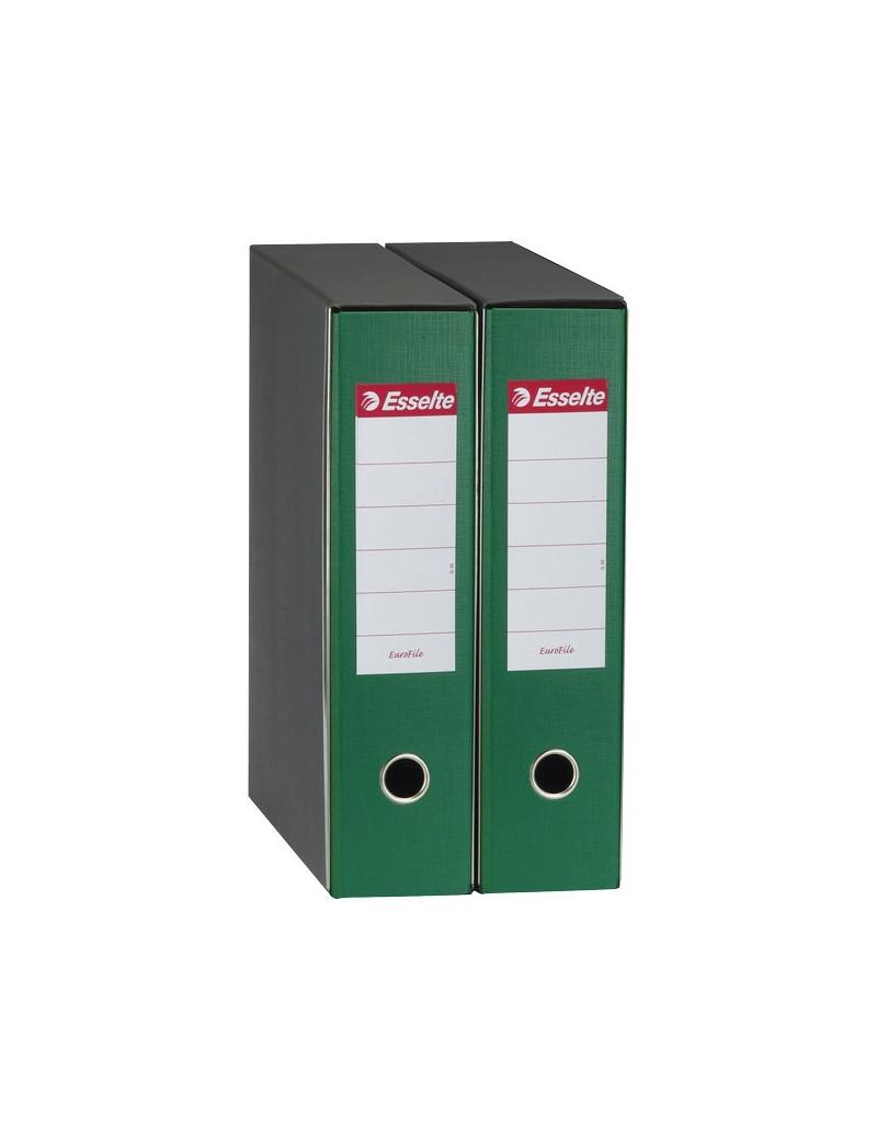 Registratore Eurofile G54 Esselte - Protocollo - Dorso 5 - 23x33 cm - 390754180 (Verde)