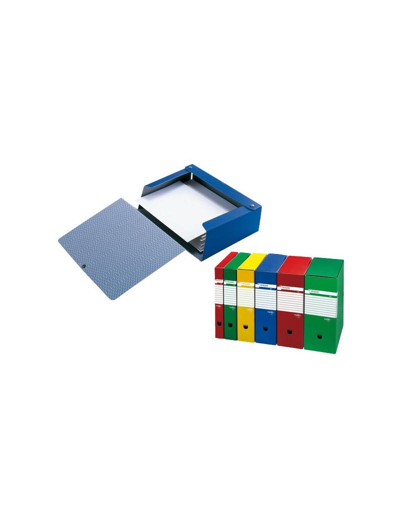 Cartelle Portaprogetti Spazio Sei Rota - Dorso 12 - 25x35 cm - Rosso