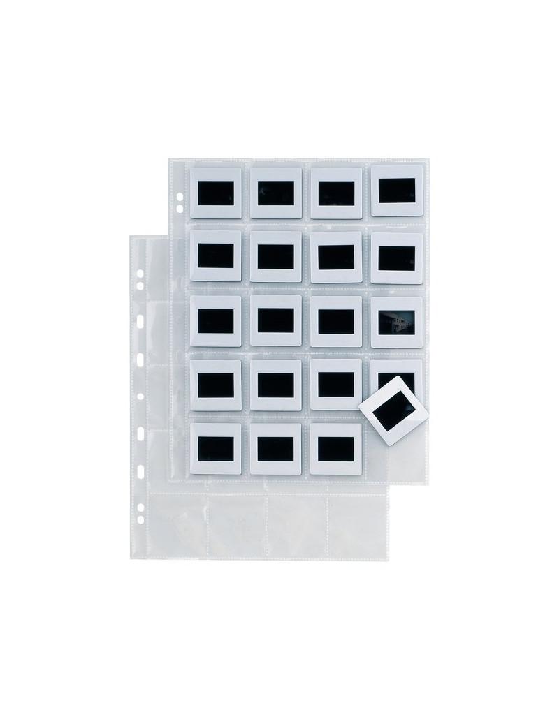 Buste Porta Diapositive Sei Rota - 20 Spazi - 5,5x5,5 cm Conf. 10