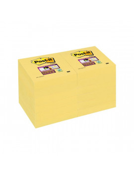 Post-it Super Sticky Canary 622-12SSCY 3M - 47,6x47,6 mm - 81398 (Giallo Canary Conf. 12)