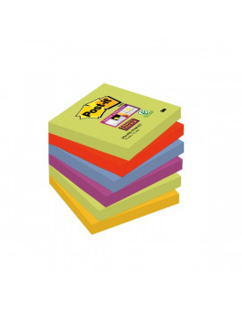 Foglietti Post-it® Super Sticky Marrakesh Post-it - 76x76 mm (Conf. 6)