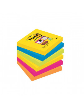 Foglietti Post-it® Super Sticky Rio De Janeiro Post-it - 76x76 mm (Conf. 6)