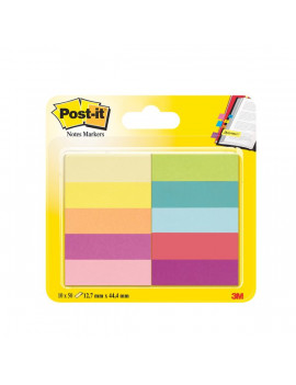 Segnapagina Post-it® Notes Markers in Carta Post-it - 12,7x44,4 mm (Conf. 10)
