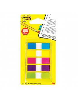 Mini Dispenser Index Pocket Post-it (Conf. 5)