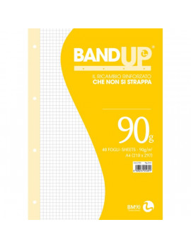 Ricambi Rinforzati Bund Up BM - A4 - 5 mm (Conf. 40)
