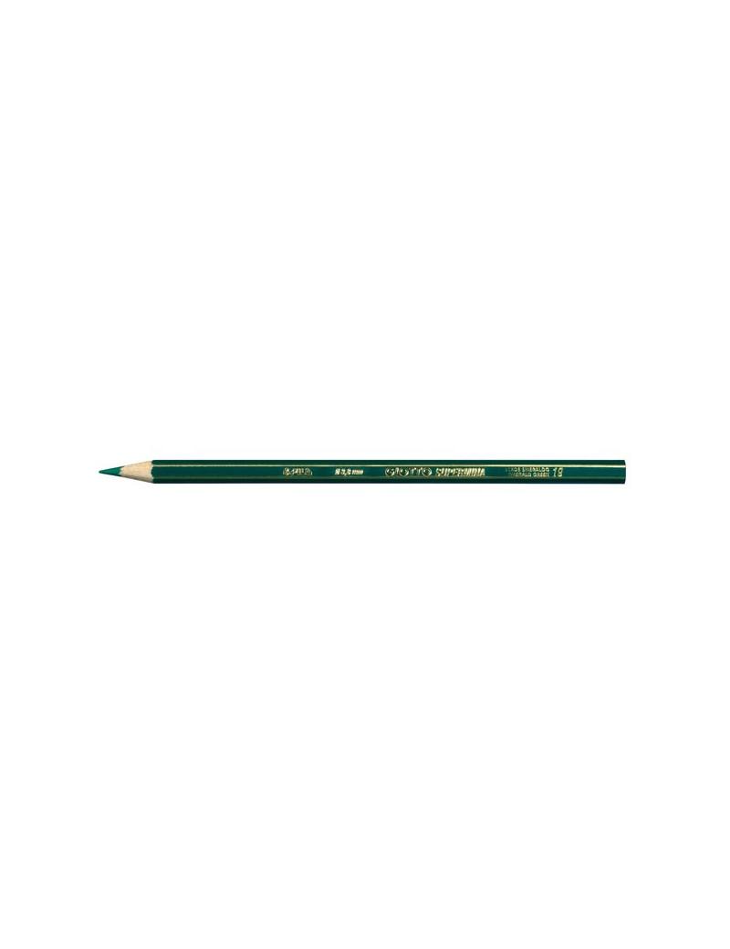 Pastelli Supermina Giotto - Verde Smeraldo (Conf. 12)