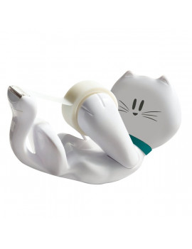 Dispenser per Nastro Adesivo Scotch Magic Emotional Scotch - Kitty - 19 mm x 8,89 m