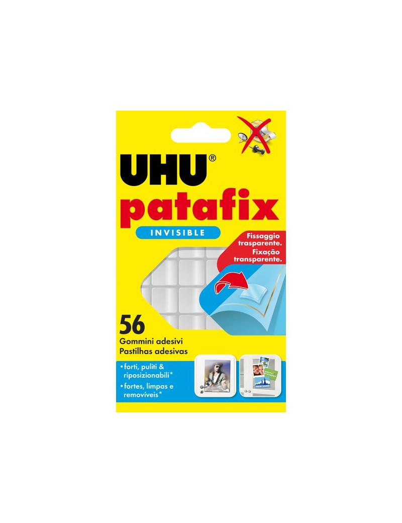 Gomma Adesiva UHU® Patafix UHU - Trasparente (Conf. 56)