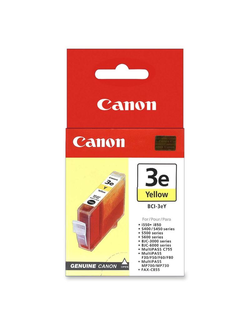 Cartuccia Originale Canon BCI-3eY 4482A002 (Giallo 390 pagine)
