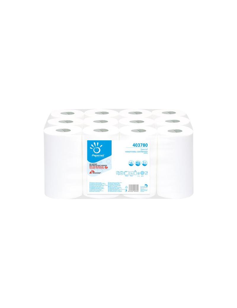 Asciugamani Papernet - 2 Veli - in Rotolo - 1x12 57 m (Conf. 12)