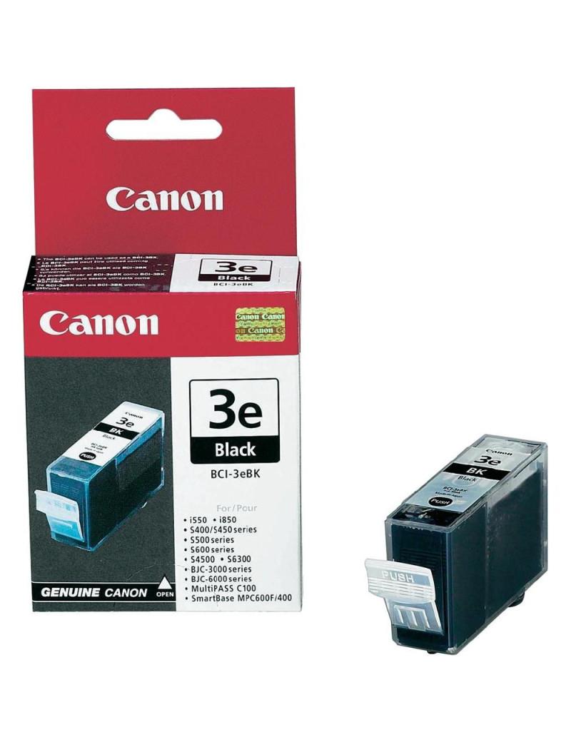 Cartuccia Originale Canon BCI-3eBK 4479A002 (Nero 500 pagine)