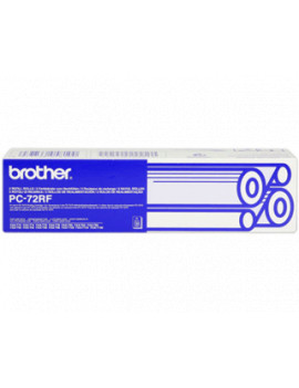 TTR Fax Originale Brother PC-72RF (Nero Conf. 2)