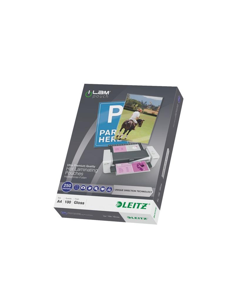 iLAM Pouches UDT - 250 micron - 21,6 x 30,3 cm - A4 (Conf. 100)
