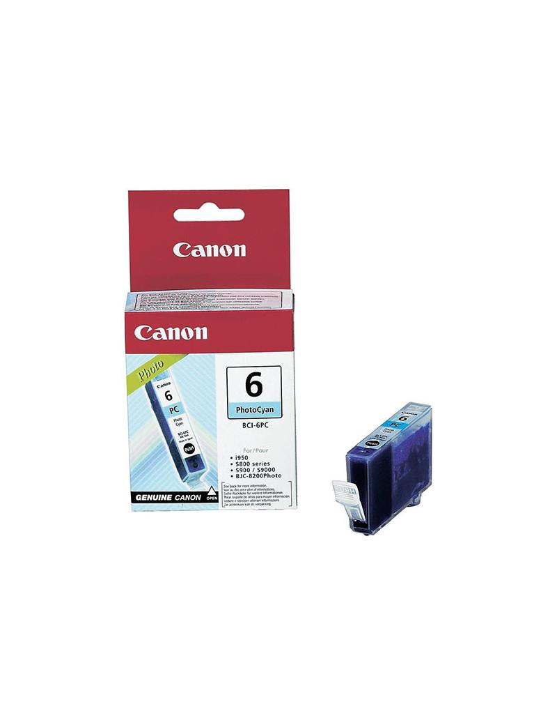 Cartuccia Originale Canon BCI-6PC 4709A002 (Ciano Foto)