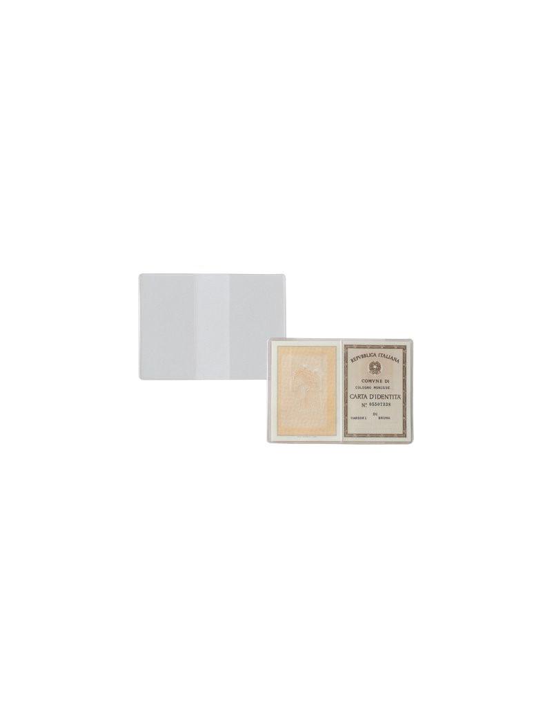 Custodia Portadocumenti Sei Rota - 15,5x11 cm (Trasparente Conf. 100)