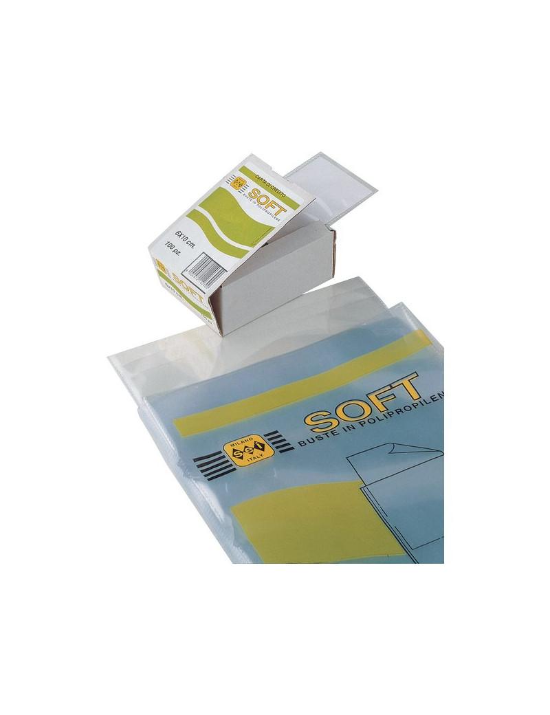 Buste Trasparenti Soft Sei Rota - 30x42 cm (Conf. 10)