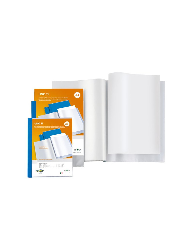 Portalistini Personalizzabili Uno TI Sei Rota - 22x30 cm - 48 Buste - Blu