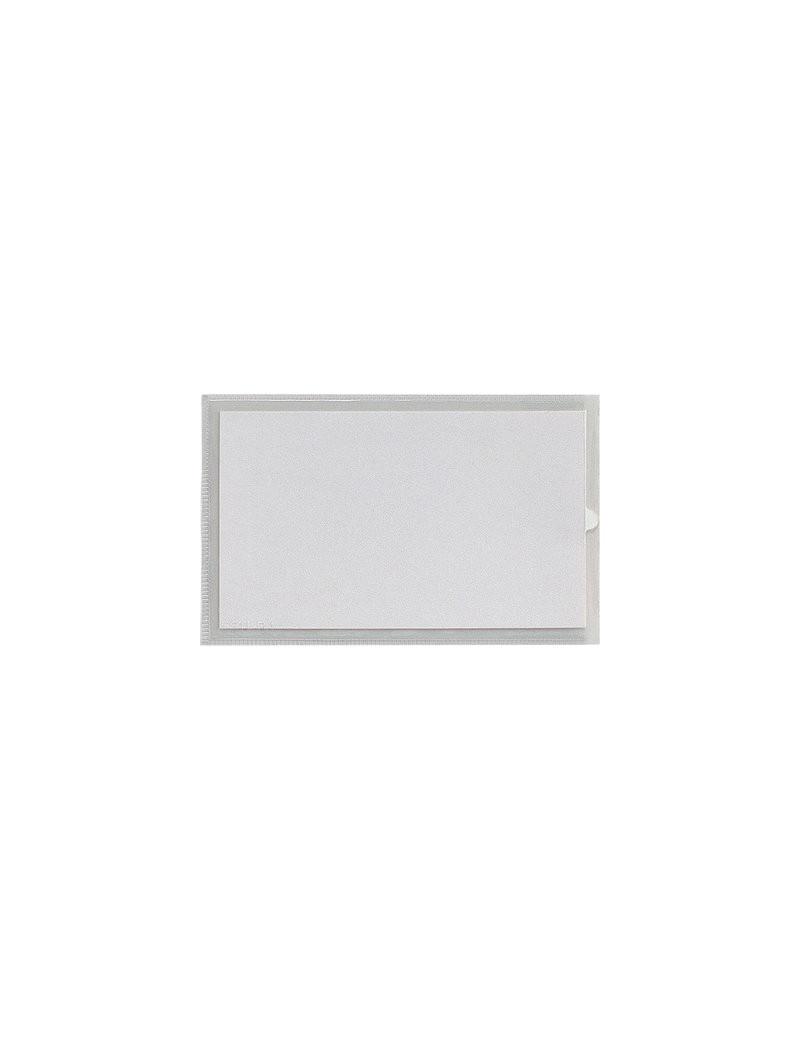 Porta Etichette Adesive Ies TI Sei Rota - Con Etichetta - 2,4x6,3 cm (Conf. 10)