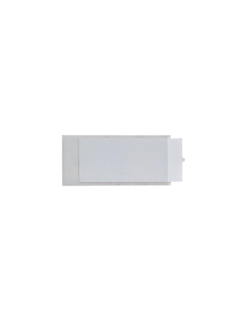 Porta Etichette Adesive Ies TI Sei Rota - Con Etichetta - 3,2x8,8 cm (Conf. 10)