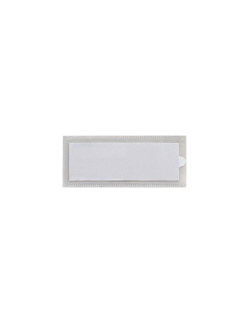 Porta Etichette Adesive Ies TI Sei Rota - Con Etichetta - 6,5x14 cm (Conf. 10)