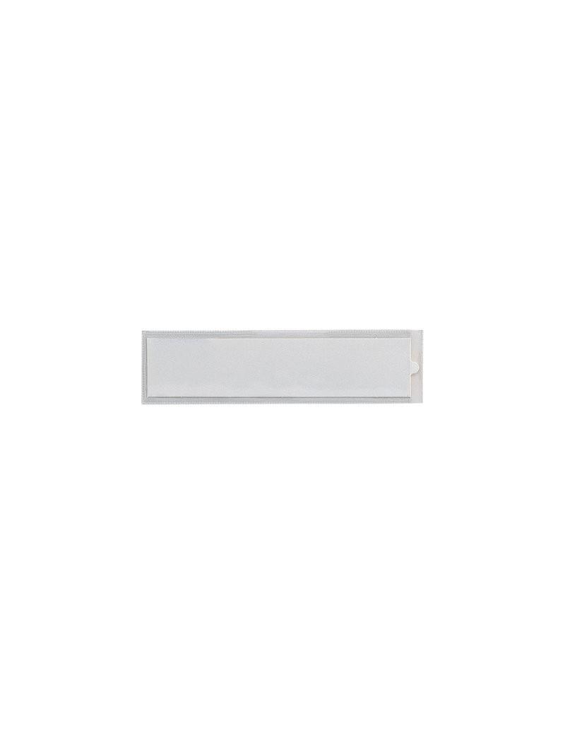 Porta Etichette Adesive Ies TI Sei Rota - Senza Etichetta - 3,2x8,8 cm (Conf. 100)