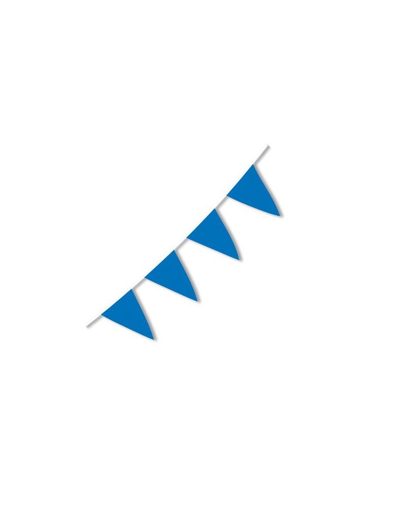 Festone PVC - 10 m - Azzurro
