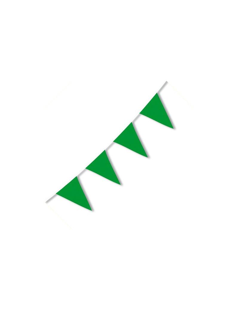 Festone PVC - 10 m - Verde