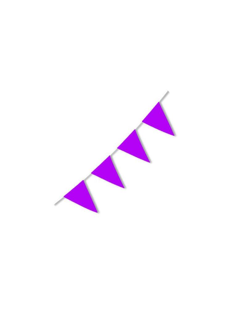 Festone PVC - 10 m - Viola