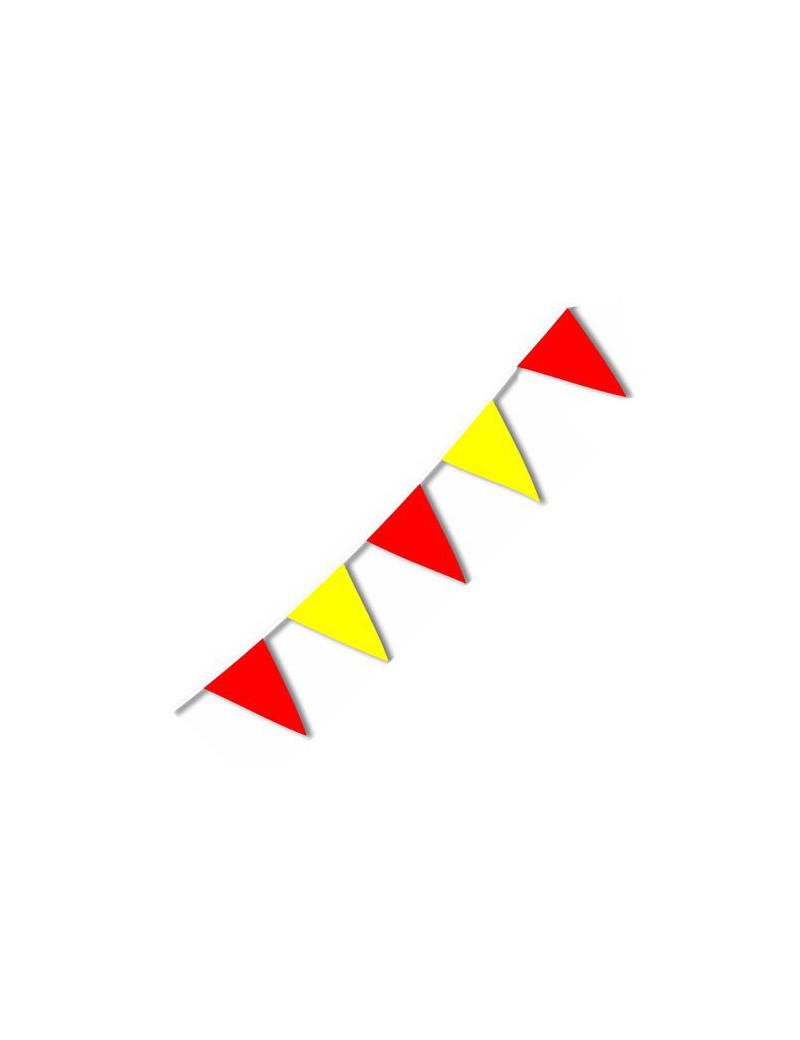 Festone PVC - Bicolore - Giallo/Rosso