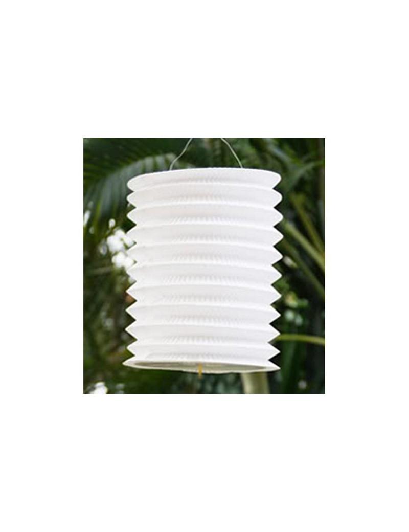Lanterna Carta Cilindrica - Bianco