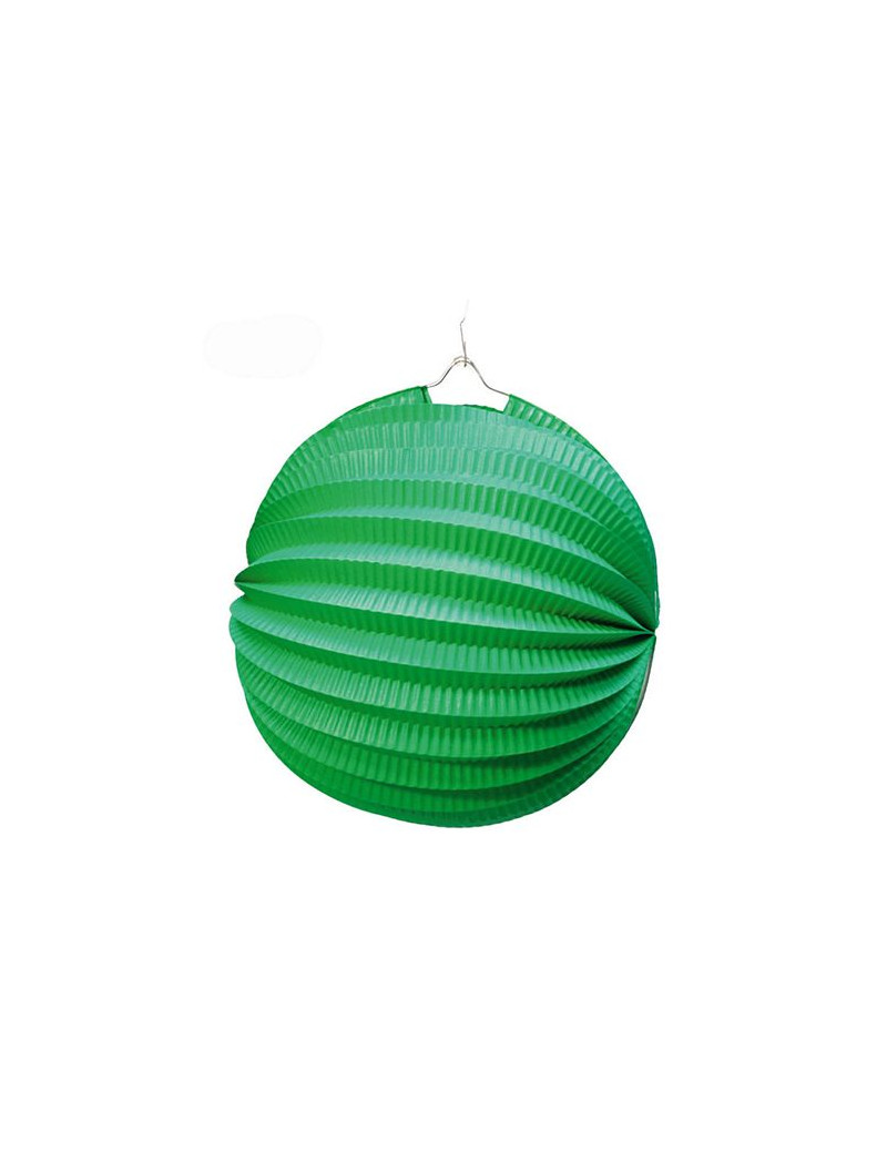 Lanterna Carta Tonda - Verde