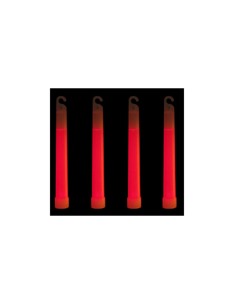 Glow Stick - Rosso - 15 cm