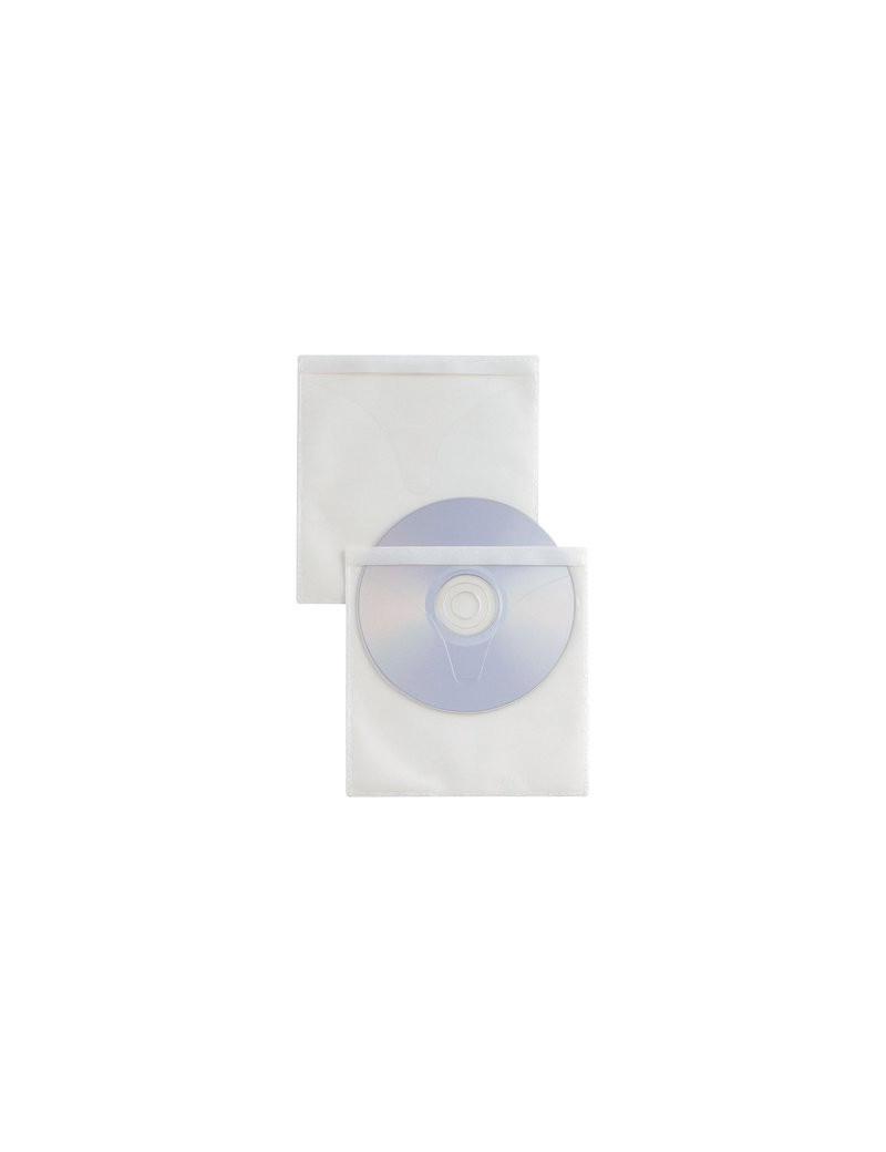 Busta Adesiva SelfTI CD/DVD Strip Sei Rota - 400130 (Trasparente Conf.25)