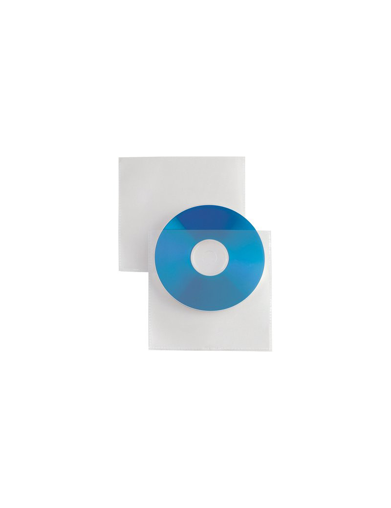Busta Porta CD/DVD Soft Sei Rota - 657529 (Trasparente Conf. 25)