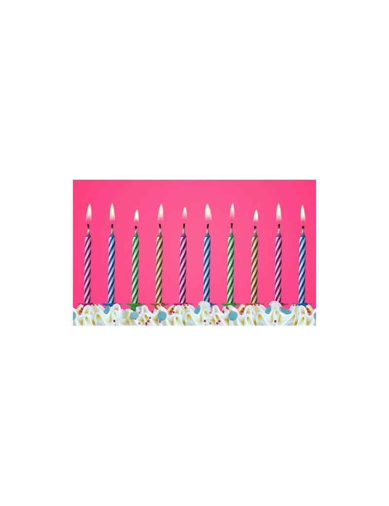 Candeline per Torta - Magiche (Conf. 10)