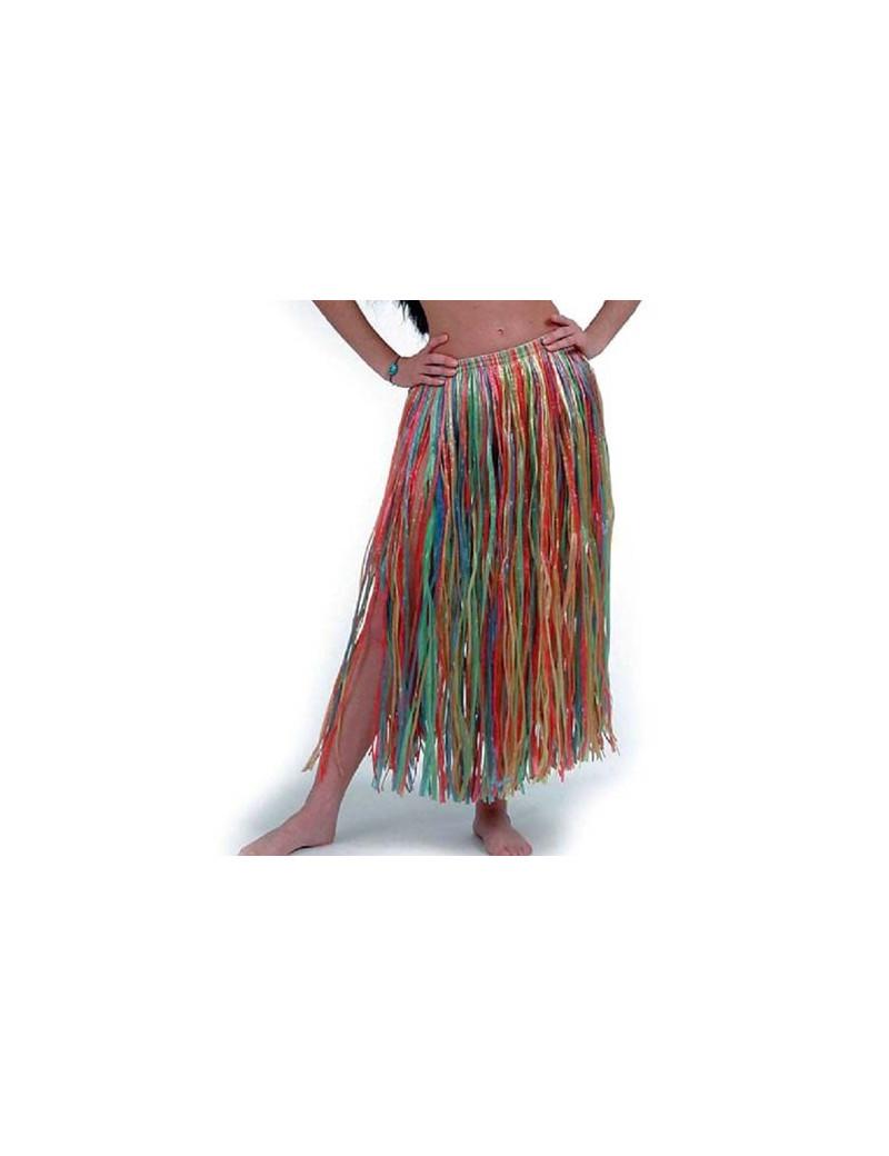 Gonna Hawaiana Multicolor - 75 cm