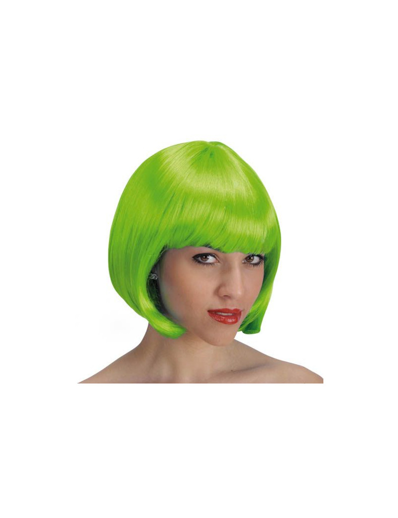 Parrucca a Caschetto - Verde