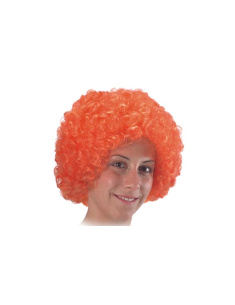 Parrucca Riccia - Arancione